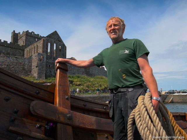 Vikingschip Draken Harald Hårfagre zoekt bemanning