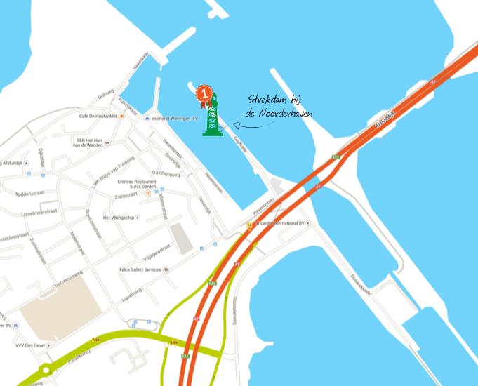 Vuurtoren  Den Oever verhuist naar Noorderhaven
