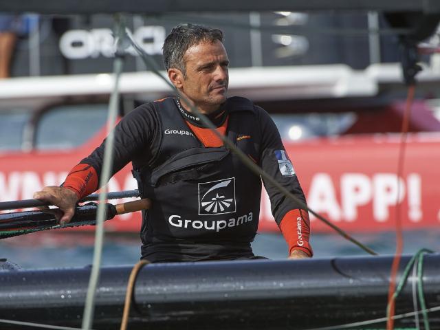 Franck Cammas gewond tijdens training