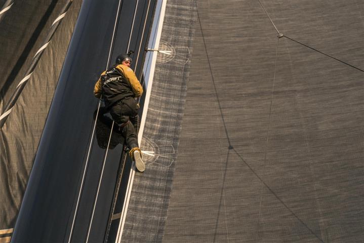 9 tips om tijdens de vaart veilig de mast in te gaan