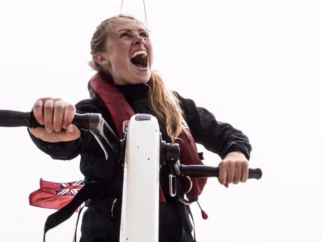 Jonge zeilster wint uitdaging in Clipper Race