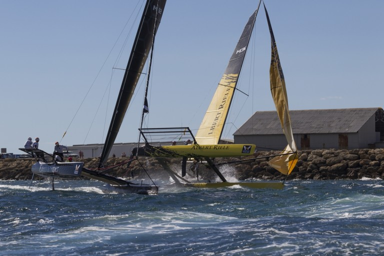 World Match Racing Tour Fremantle Highlights