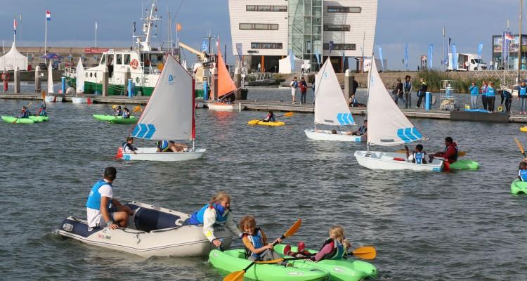 Veel watersportactiviteiten tijdens Cornelis Race