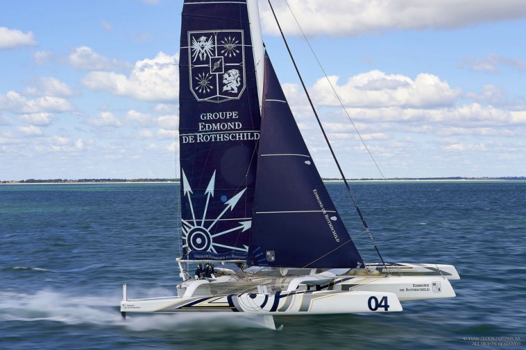 Gitana Team start tweede poging Jules Verne Trophy