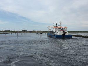 Jachthaven Schiermonnikoog baggeren