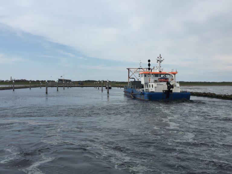 Jachthaven Schiermonnikoog uitgediept
