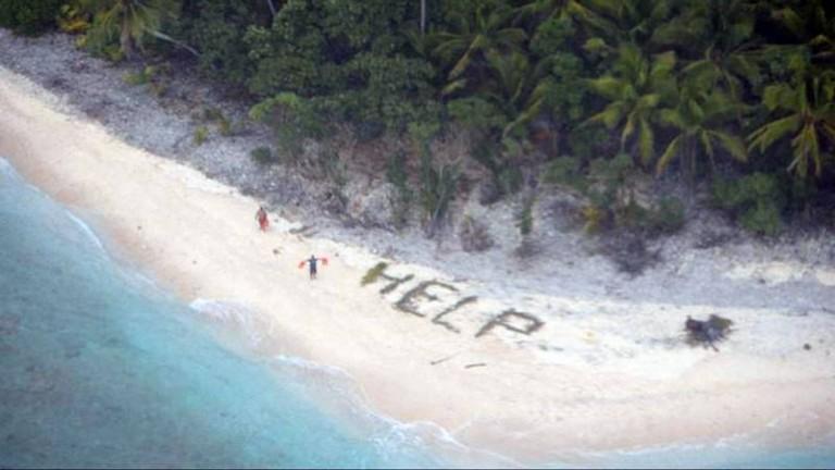 Schipbreukelingen van onbewoond eiland gered