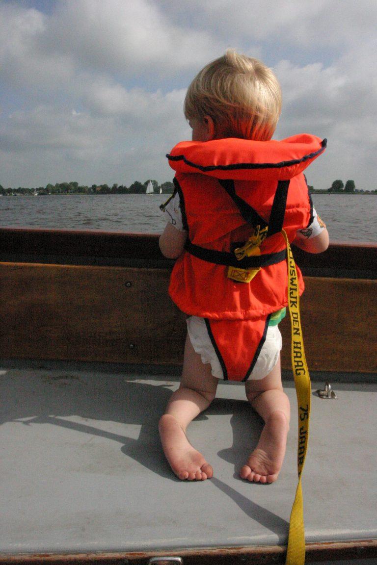 Een spannende ervaring met een kinderzwemvest