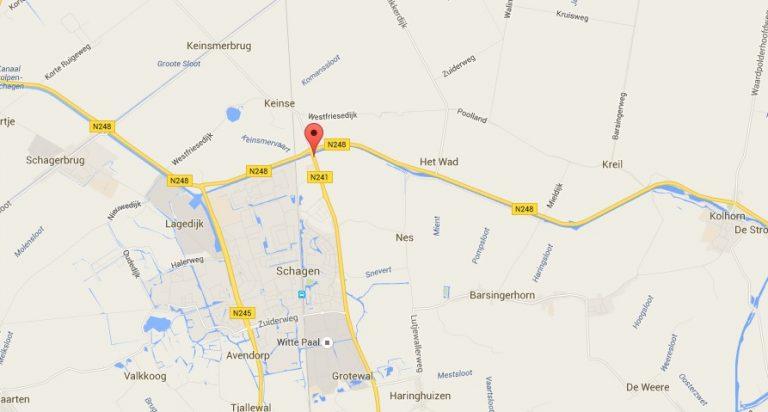 Stremming vaarweg van kanaal Schagen- Kolhorn
