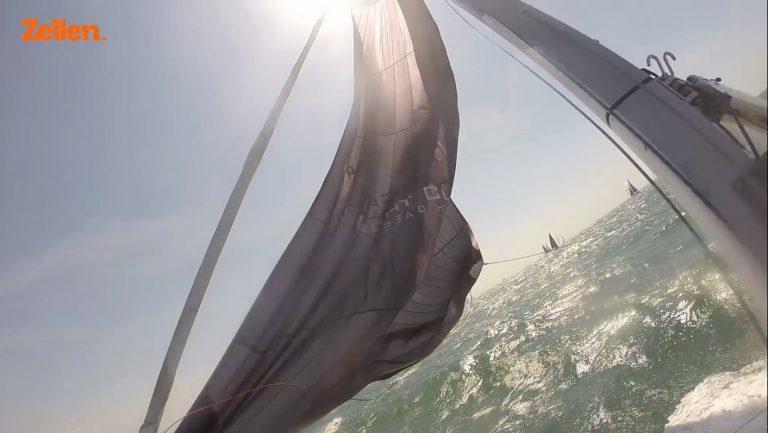 Bekijk de North Sea Regatta vanaf het water