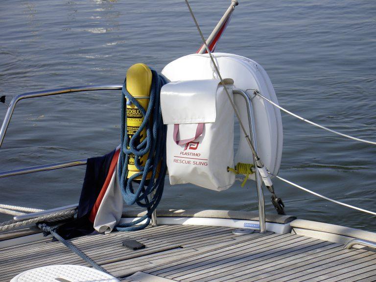 Veiligheidsmiddelen aan boord