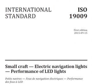 De recent van kracht geworden ISO standaard voor led