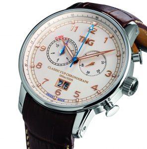 1e prijs: Classic Cup Chronograph t.w.v. 695 euro