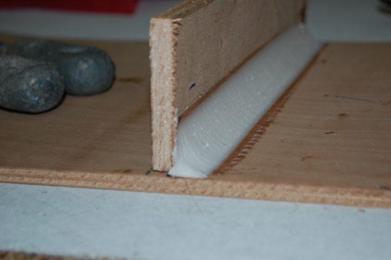 Werken met epoxy deel 4; epoxy fillets