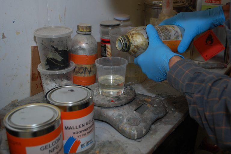 Werken met epoxy deel 1: de voorbereiding