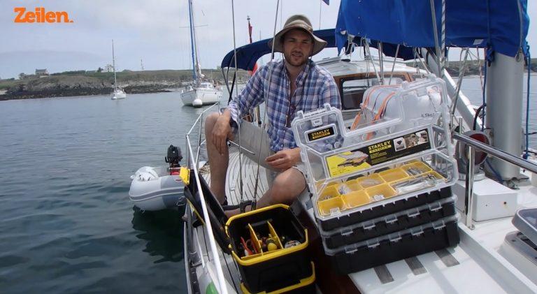 Aflevering 4 SY Anne Marie: Voorbereidingstips voor de Golf van Biskaje