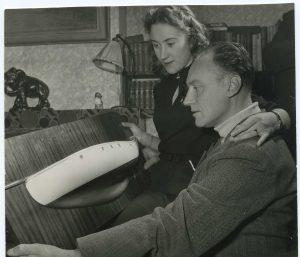 Jacob Haalmeyer met zijn dochter