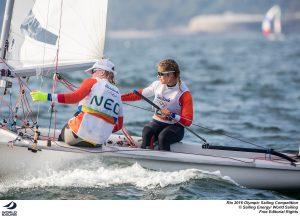 Zegers en Van Veen, Rio 2016