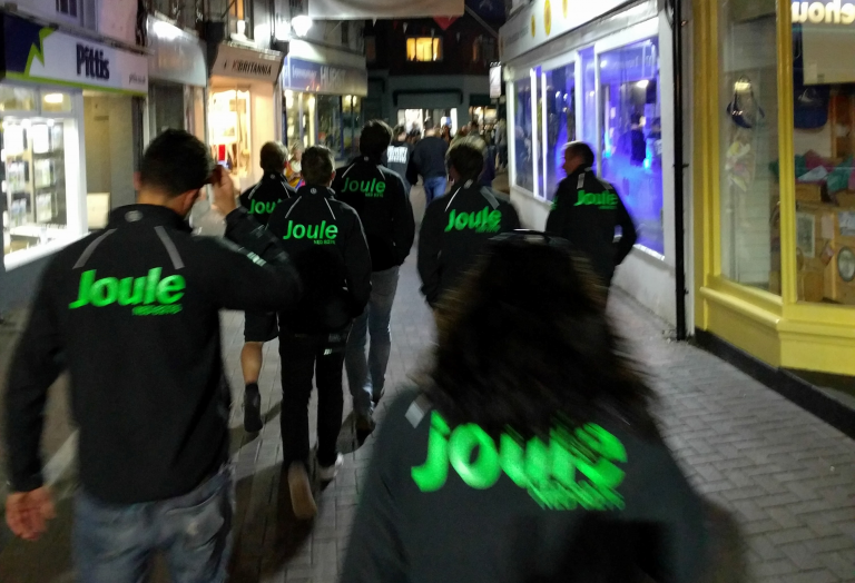 Team Joule op de Cowes Week