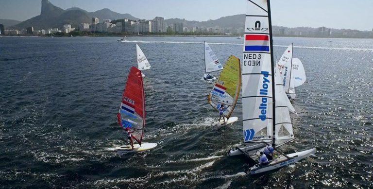 Programma olympische zeilers