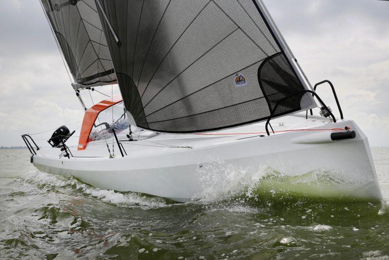 Zeilen boot van het jaar 2016