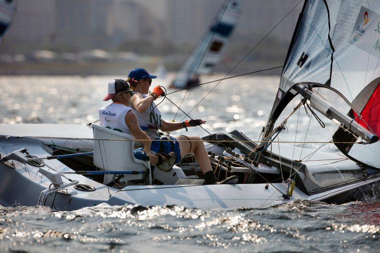 Schrama en Nap eindigen als zevende op Paralympische Spelen