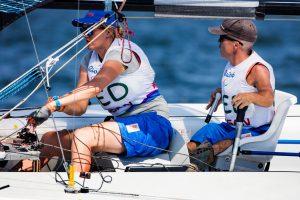 Rolf Schrama en Sandra Nap. Paralympische Spelen 2016