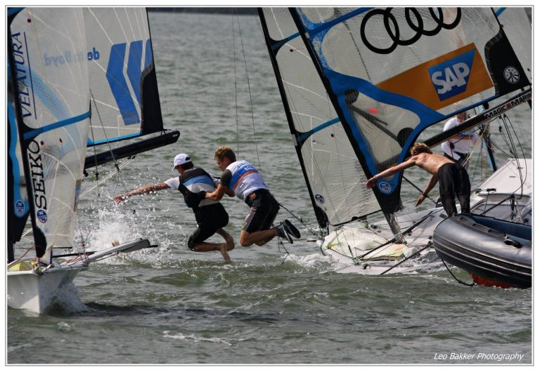Bart Lambriex en Philip Meijer Junior Wereldkampioen 49erFX