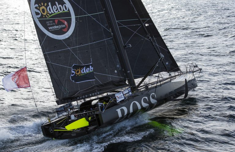 Alex Thomson breekt foil in Vendée Globe