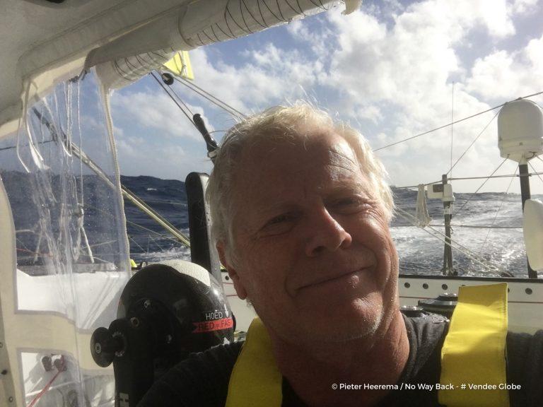 Pieter Heerema vanaf de Indische Oceaan
