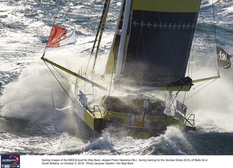 Update Pieter Heerema: zwaar weer