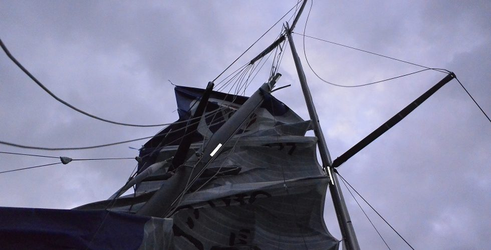 Spirit of Yukoh breekt mast in Vendée Globe