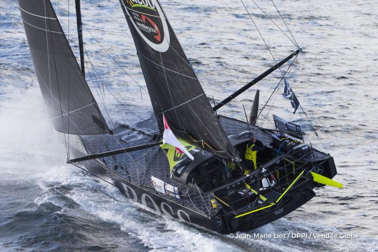 Wouter Verbraak over eindsprint in Vendée Globe
