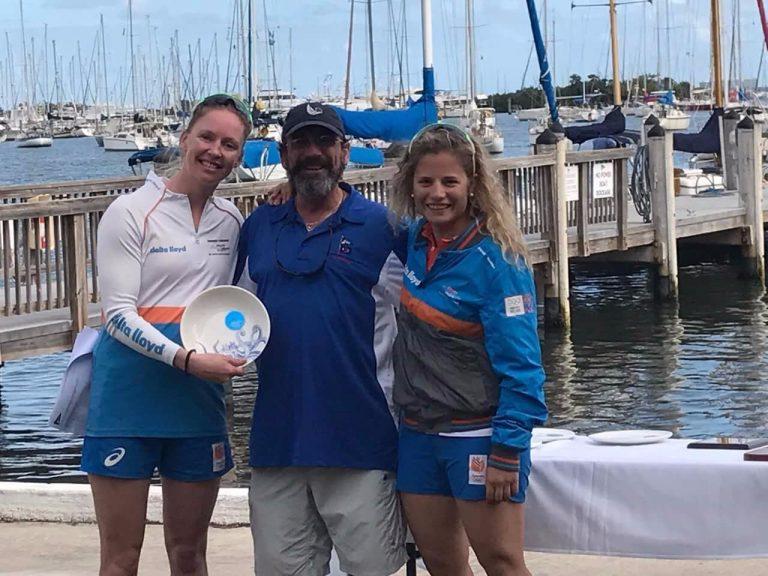 Zegers en Van Veen winnen in Miami