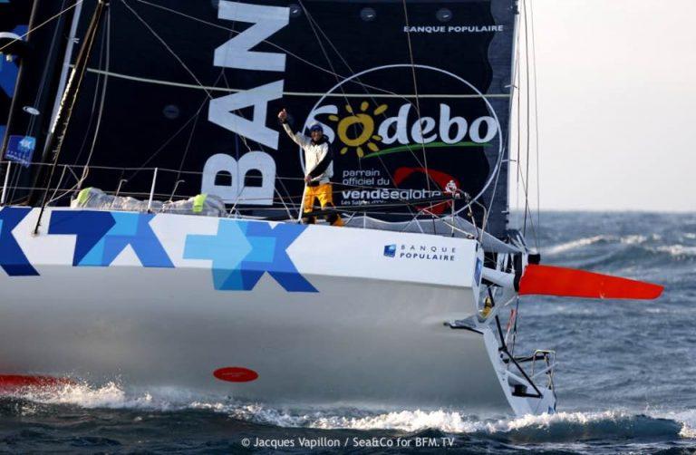 Armel Le Cléac'h wint Vendée Globe