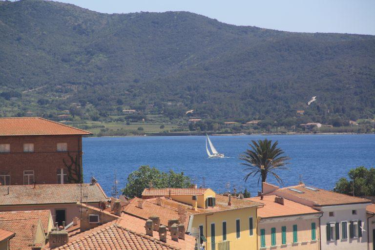 Zeilen in Toscane