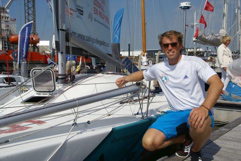 Solozeiler zeilt 50.000 euro bij elkaar