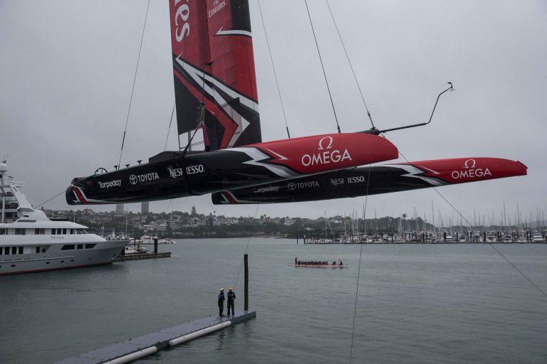 Het ontwerp van Emirates Team New Zealand
