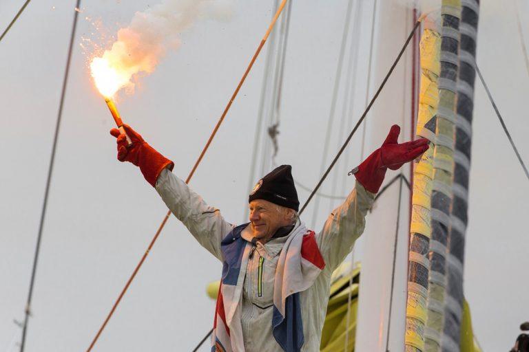 Pieter Heerema aan land na 117 dagen op zee