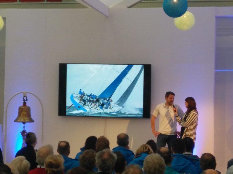 Simeon Tienpont opent Hiswa Amsterdam Boat Show