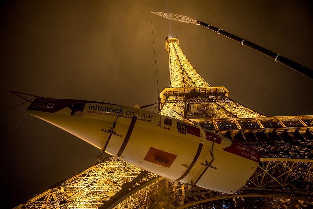 initiatives-coeur op Eiffeltoren