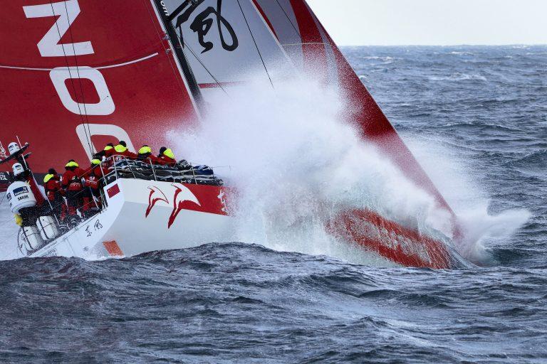 24 juni 2018: Dongfeng Race Team wint de Volvo Ocean Race