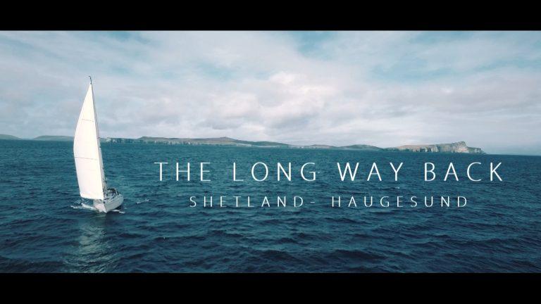 Terug naar Noorwegen vanaf de Shetlands