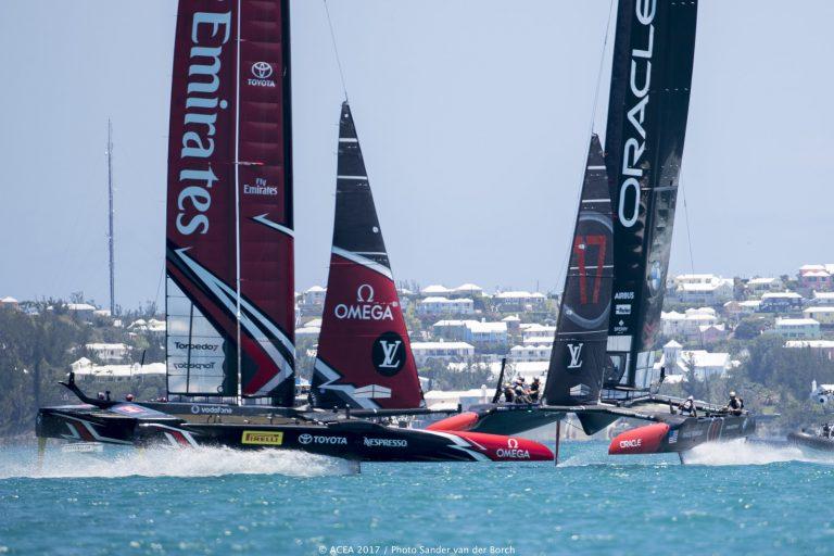 Kijk de America's Cup op groot scherm bij XO Boats