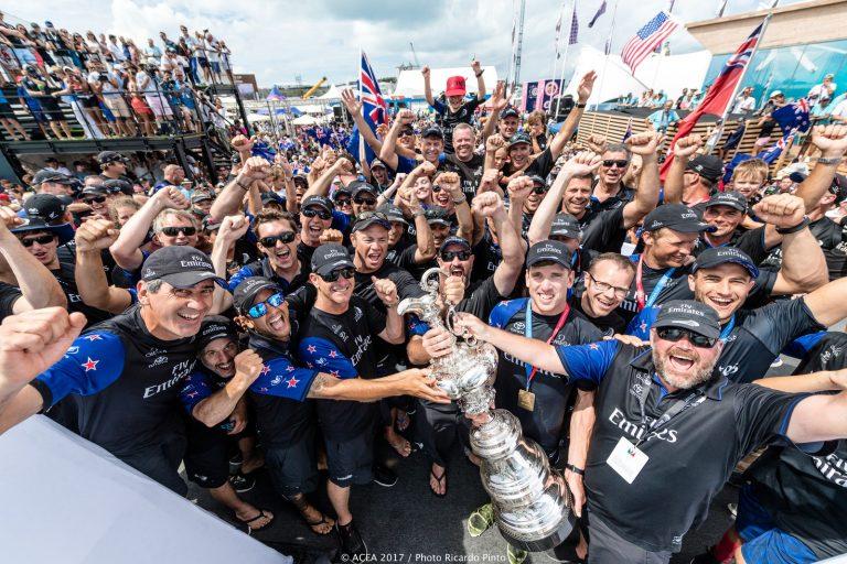 Nationaal feest in Nieuw-Zeeland na winst America's Cup