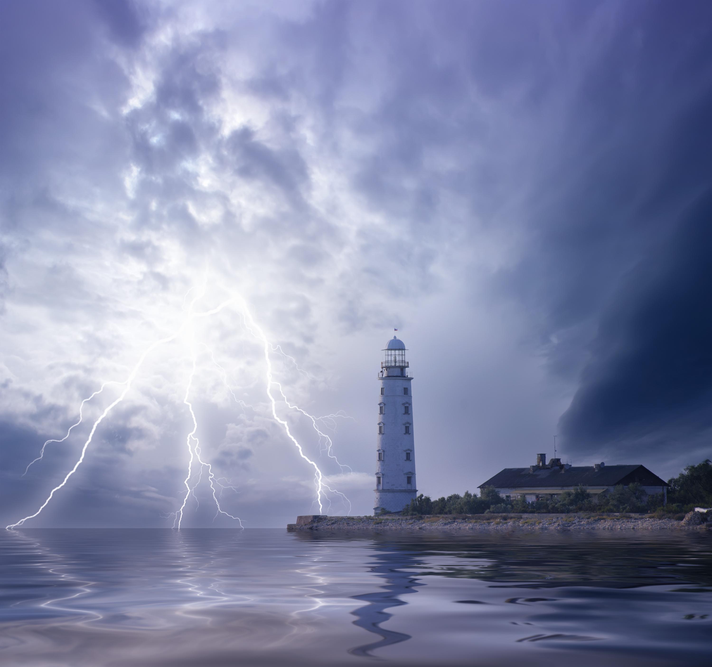 Onweer op het water: dit moet je doen