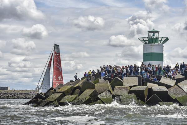 Nog 100 dagen tot de Volvo Ocean Race