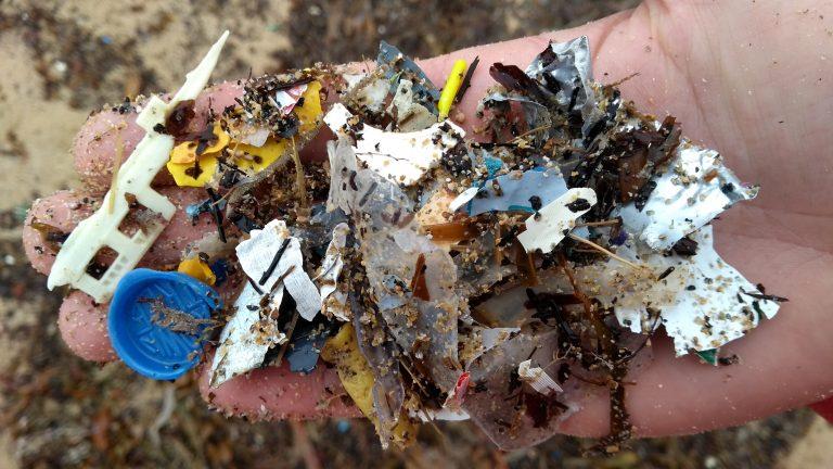Noordzee verandert in plastic soep