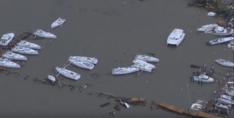 Orkaan Irma verwoest Sint Maarten