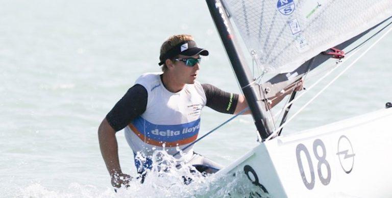 Brons voor Nicholas Heiner op wereldkampioenschap Finn